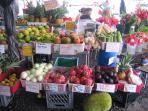 The local Farmers' Markets feature wild and tropical fruits