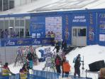 World Cup Skiers compete at Bansko