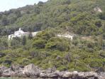 The monastery of Virgin Mary in Myrtiotissa