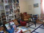 La bibliothèque ou un deuxième séjour, si vous voulez être tranquille