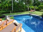 Baan Banyan - Sleeps up to 6 persons with private pool - air con in living room also