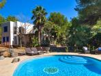 Bali meets Ibiza with this beautiful four bedroom villa in San Jose