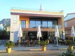 Great local wi-fi cafe and restaurant with sea views in Colonia