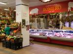 The  nearby market - great for top quality meat, cheese, fruit and vegetables.