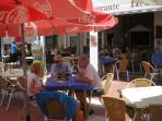Enjoy a drink in one of the many popular beach bars