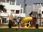Childrens safe play area