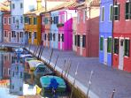 Tami Holidays - Venice (Burano island) 1 hour far from Vittorio Veneto