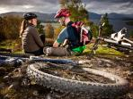Mountain bike hire with many cycle routes available locally.