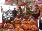 market - top of street