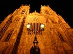 York Minster at night - (15 minutes walk from the apartment)