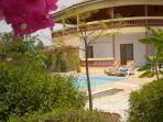 coup de cœur à Saly: belle et grande villa + piscine pour un prix modéré