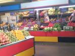 Fresh fruits and vegetables grown in Malaga throughout the year