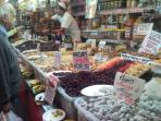 The finest selection of dried fruit and nuts, a staple of the Mediterranean diet