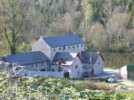 Your first view of the Coach House and the Mystic Valley of St Mullins