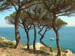 Costa Brava coastal walk less than 30 mins away