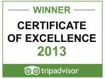 This award is very hard to achieve, all owners are very proud.