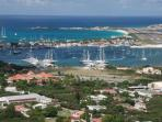 A view of beautiful Sint Maarten