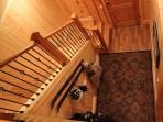 Stairs and foyer