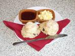 Home made Scones, normally included for guests on arrival