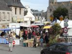 Sunday Market at Plestin, one of the best in the area