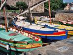 The Fishing boats.