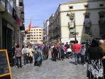 The 'Calle Major' ( main street ) Cartagena.