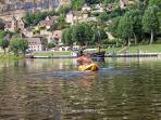 Canoeing La Roque Gageac