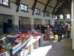 Covered market at Le Touquet