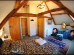 Bedroom 1 with en suite bathroom