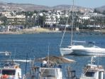 Paphos Harbour area, good selection of restaurants, 15 minutes drive from our villa
