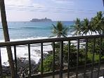 view from the lanai of #303