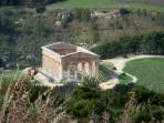 Segesta Temple, 80kms far, 1 hour by car