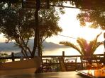 sunset at the Emerald bar, Plaka