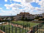 Tennis court in Sierra Cortina