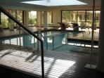 The nearby Spa Centre with indoor pool and jacuzzi