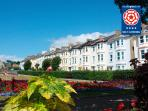 Seafield, Seaton, Devon, first floor apartment with sea views.