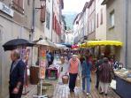St Antonin Noble Val sunday market