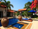 Luxury 5 bedroom pool villa near the popular Laguna Resort area. Perfect for families and friends.