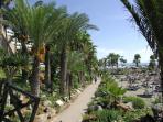 Paphos tourist beach