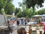 Antiques market in Montreuil Bellay 1st Sunday of every month