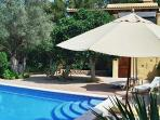 Mediterranean style villa facing the sunset,