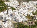 Edge of Frigiliana Old Town
