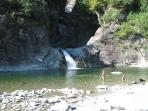 Bodengo Waterfall in Gordona