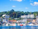 Picturesque St Aubin is just over a mile down the hill and is a pretty historic fishing village