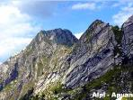 Apuane mountains