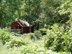 Spend time in the Farm & Garden Experience at the Firefly in the Garden Hamlet at Highland Lake