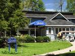 Dine at Seasons at the Highland Lake Inn - Next door to the Lark in the Garden Hamlet at Highland Lake