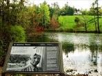 Visit Carl Sandburgs Famous Home - With loads of Hiking Trails - Just 1 Mile from the Lower Millhouse