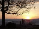 Watch the Sunset at Jump Off Rock - 15 Minutes from the Dancing Bears in the Garden Hamlet