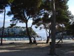 Beautiful Cala Galdana Beach